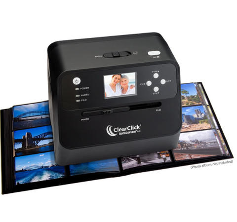 Rapid Photo Album Scanner