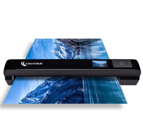 Portable Photo & Document Scanner