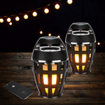 Tiki Torch Outdoor Bluetooth Speakers (Set of 2)