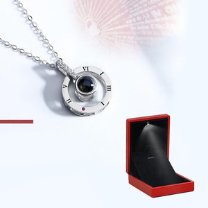 """100 Languages """"I LOVE YOU"""" Ring and Necklace"""