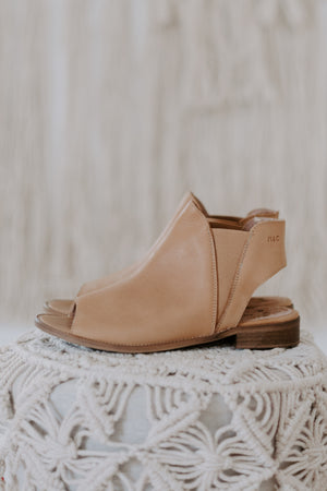 M+C Tan Toeless Boot