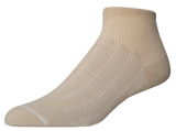 Primary Copper Twist Ankle Compression Socks