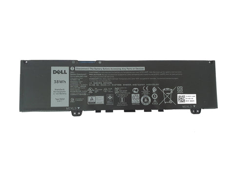 Dell Inspiron 13 5370 7370 7373 7386 Laptop Battery 38Wh 3-Cell 39DY5 RPJC3 F62G0 | Black Cat PC | Dell