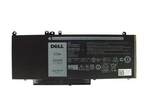 Dell Latitude / Precision 4 Cell 62Wh Laptop Battery Type 6MT4T | Black Cat PC | Dell