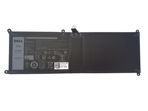 Dell XPS 12 9250 Latitude 12 7275 30Wh Laptop Battery 7VKV9 9TV5X | Black Cat PC | Dell