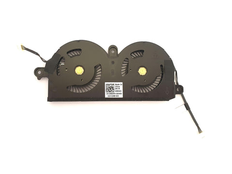 Dell XPS 13 9370, 9380 Dual / Twin Cooling CPU Fan Assembly 980WH | Black Cat PC