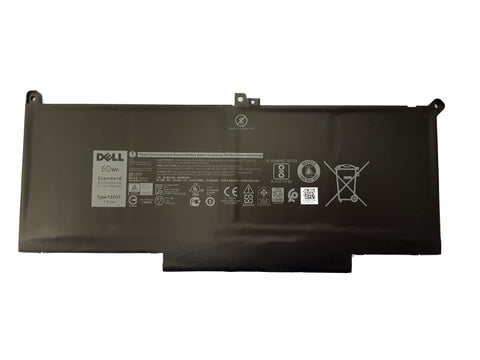 Dell Battery Latitude 7280 7290 7480 7490 F3YGT DM3WC 451-BBYE 60WH | Black Cat PC | Dell