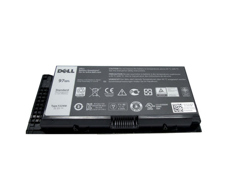 Dell Precision 9 Cell 97Wh Laptop Battery Type WD6D2 FJJ4W FV993 - Black Cat PC - The Dell Part Specialists