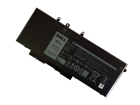 Dell Latitude / Precision 68WHr 4 Cell Laptop Battery GD1JP GJKNX 451-BBZ - Black Cat PC - The Dell Part Specialists