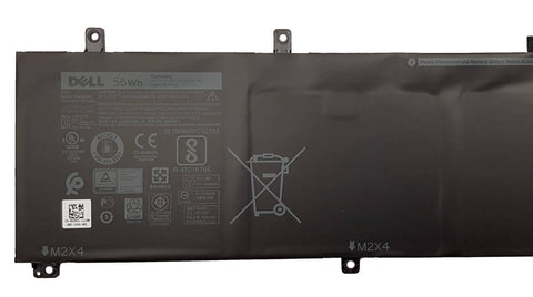 Dell Precision 5520, XPS 9560 56wH H5H20 5D91C 3 Cell Battery - Black Cat PC - The Dell Part Specialists