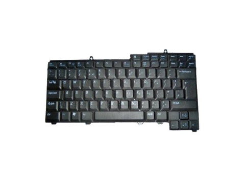 DELL UK KEYBOARD Latitude 131L Precision M90 Inspiron 630M 640M 1501 6400 9400 JC939 | Black Cat PC | Dell