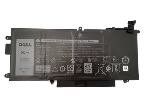Dell Latitude 5289 2-in-1 4 Cell 60Wh Battery N18GG 725KY 6CYH6 K5XWW | Black Cat PC
