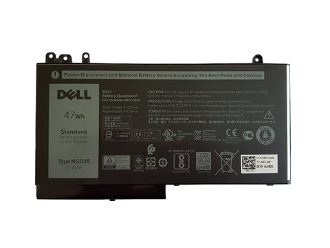 Dell Latitude E5470, E5270 3 Cell 47Wh Laptop Battery Type NGGX5 - Black Cat PC - Providing Dell Parts Since 1998