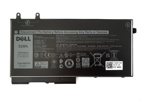 Dell Latitude 5400 5401 5411 Laptop Battery 4 Cell 51Wh R8D7N W8GMW | Black Cat PC