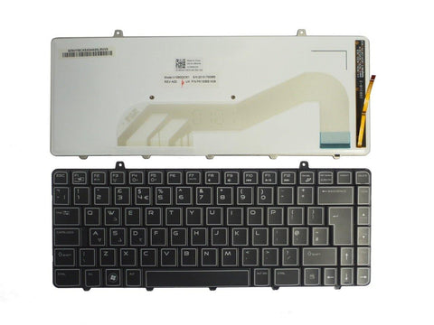 Dell UK Backlit Laptop Keyboard Alienware M11X (R1 only) RFXVK | Black Cat PC