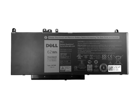 Dell Latitude E5450, E5550 62Whr 4-Cell Laptop Battery R0TMP | Black Cat PC | Dell