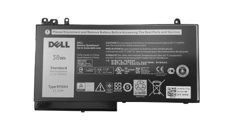 Dell Latitude E5450, E5550,3150, 3160, E5270, E5250 Battery 38Wh RYXXH | Black Cat PC | Dell
