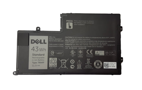 Dell 3 Cell Inspiron, Latitude Laptop Battery 43wh TRHFF J0HDW | Black Cat PC