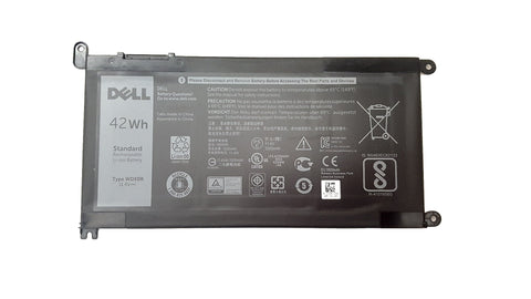 Dell Latitude / Inspiron Laptop battery WDX0R 0WDX0R 42Wh 3 cell | Black Cat PC