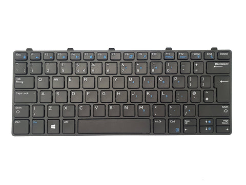 Dell Latitude 3180 3189 3190 3380 UK QWERTY Non-Backlit Keyboard X98D4 | Black Cat PC