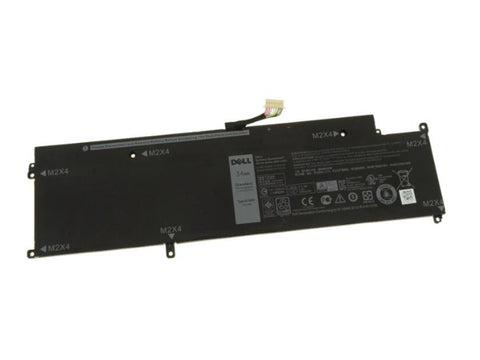 Dell Latitude 13 7370 Laptop Battery 4 CELL 34WH XCNR3, WY7CG, MH25J - Black Cat PC - Providing Dell Parts Since 1998