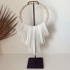 The Cape Necklace Display- natural