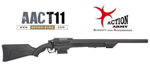 Action Army T-11 Spring Sniper Rifle - 1 Shot Airsoft