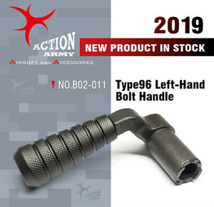 Action Army Type 96 Left Hand Bolt Handle - 1 Shot Airsoft