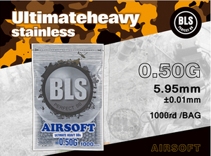 BLS Perfect BB 0.50g Ultimate Heavy Airsoft BBs 1000rd