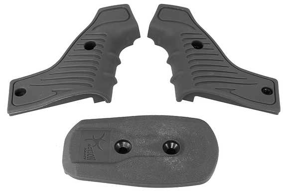 Action Army T10 Grip Kit Type B-Grey - 1 Shot Airsoft