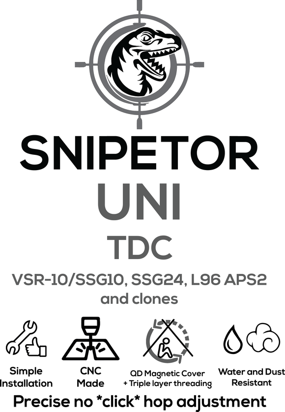 Snipetor UNI TDC for VSR/SSG10/SSG24/M24/WELL L96 - 1 Shot Airsoft