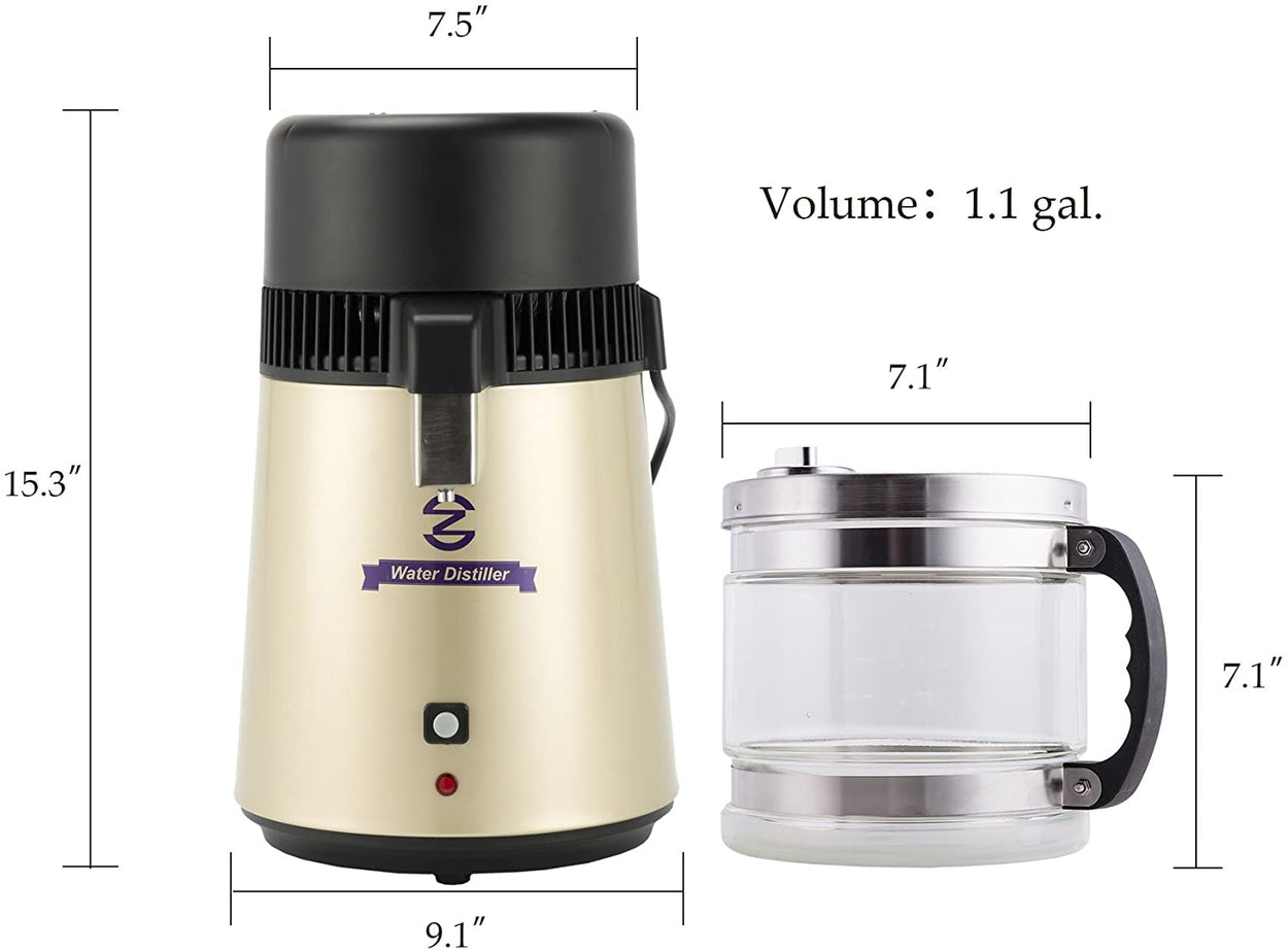 CO-Z Water Distiller (Gold)
