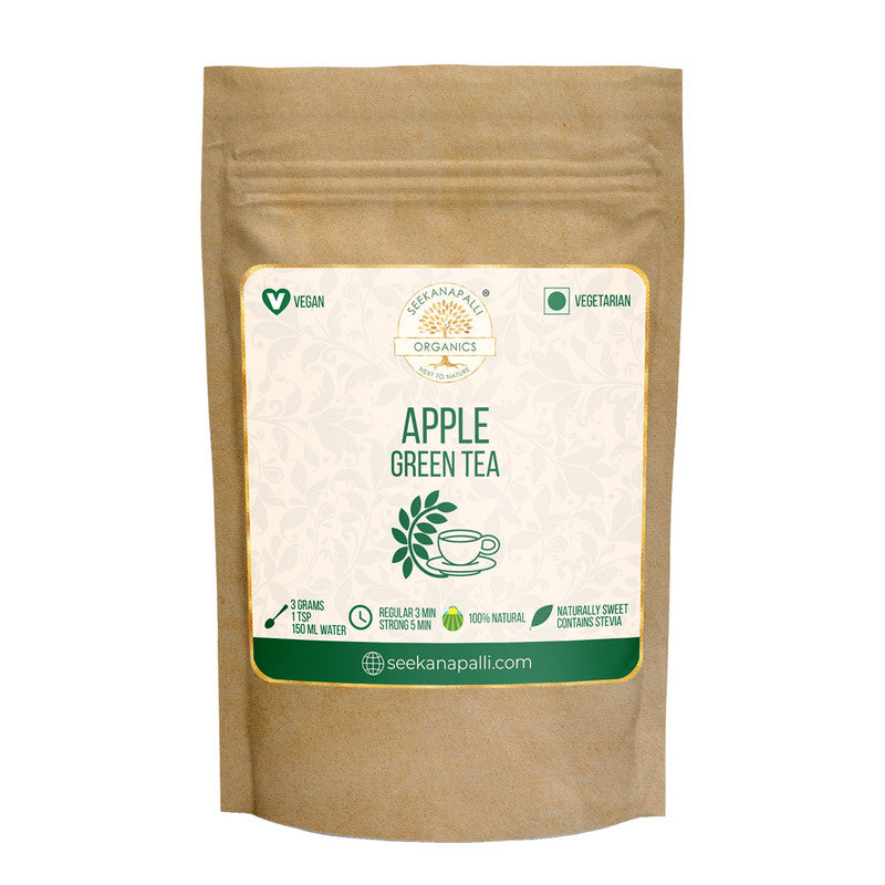 Seekanapalli Organics Apple Malus Green Tea 100 gram