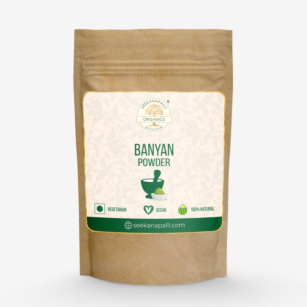 Seekanapalli Organics Banyan Leaves Powder 200 gram