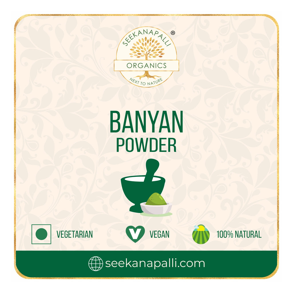 Seekanapalli Organics Banyan Leaves Powder 500 gram