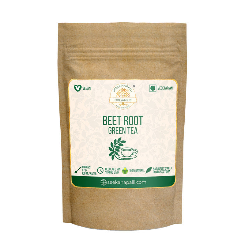 Seekanapalli Organics Beetroot Red Beet Green Tea 500 gram