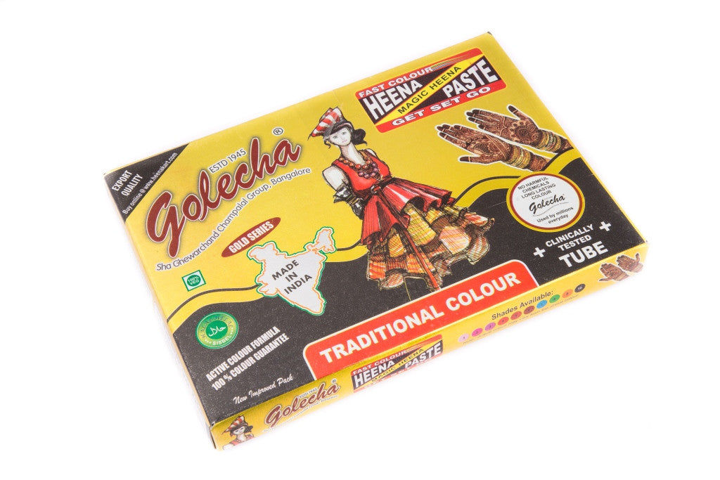 Golecha Black Henna Tube
