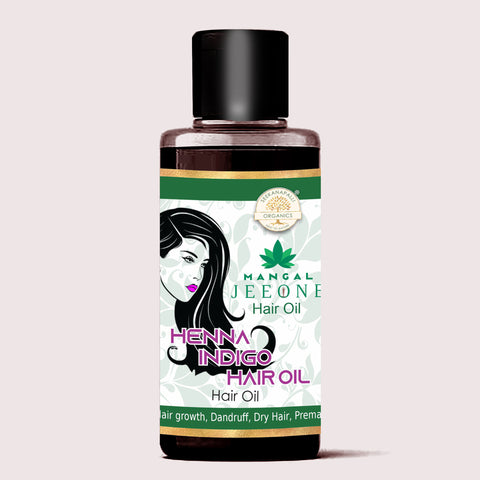 Seekanapalli Organics Heena Indigo Hair Oil 200 ml