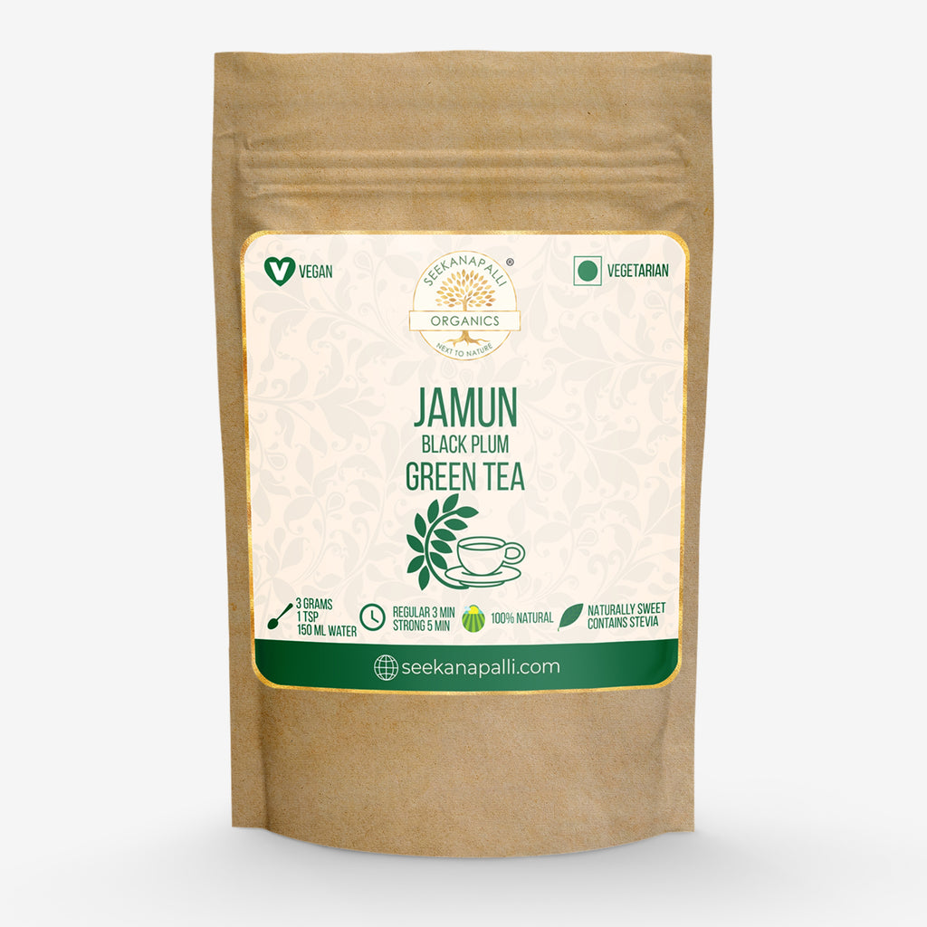 Seekanapalli Organics Jammun Black Plum Green Tea 1000 gram