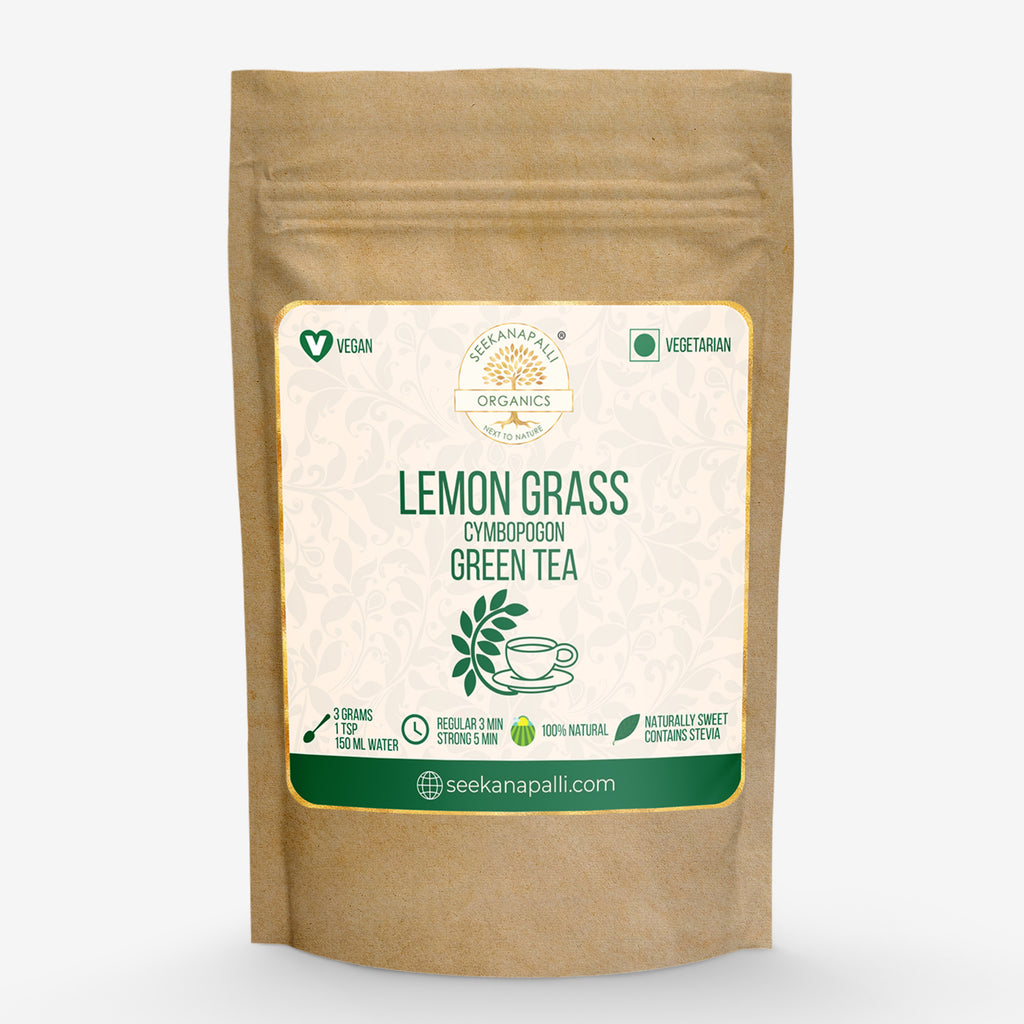 Seekanapalli Organics Lemongrass Green Tea 1000 gram