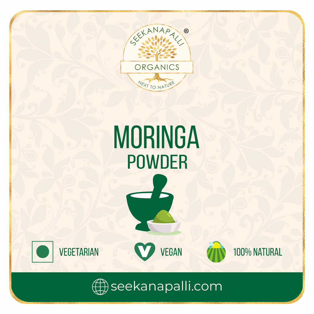 SEEKANAPALLI Organics MORINGA LEAVES POWDER 1000 gram