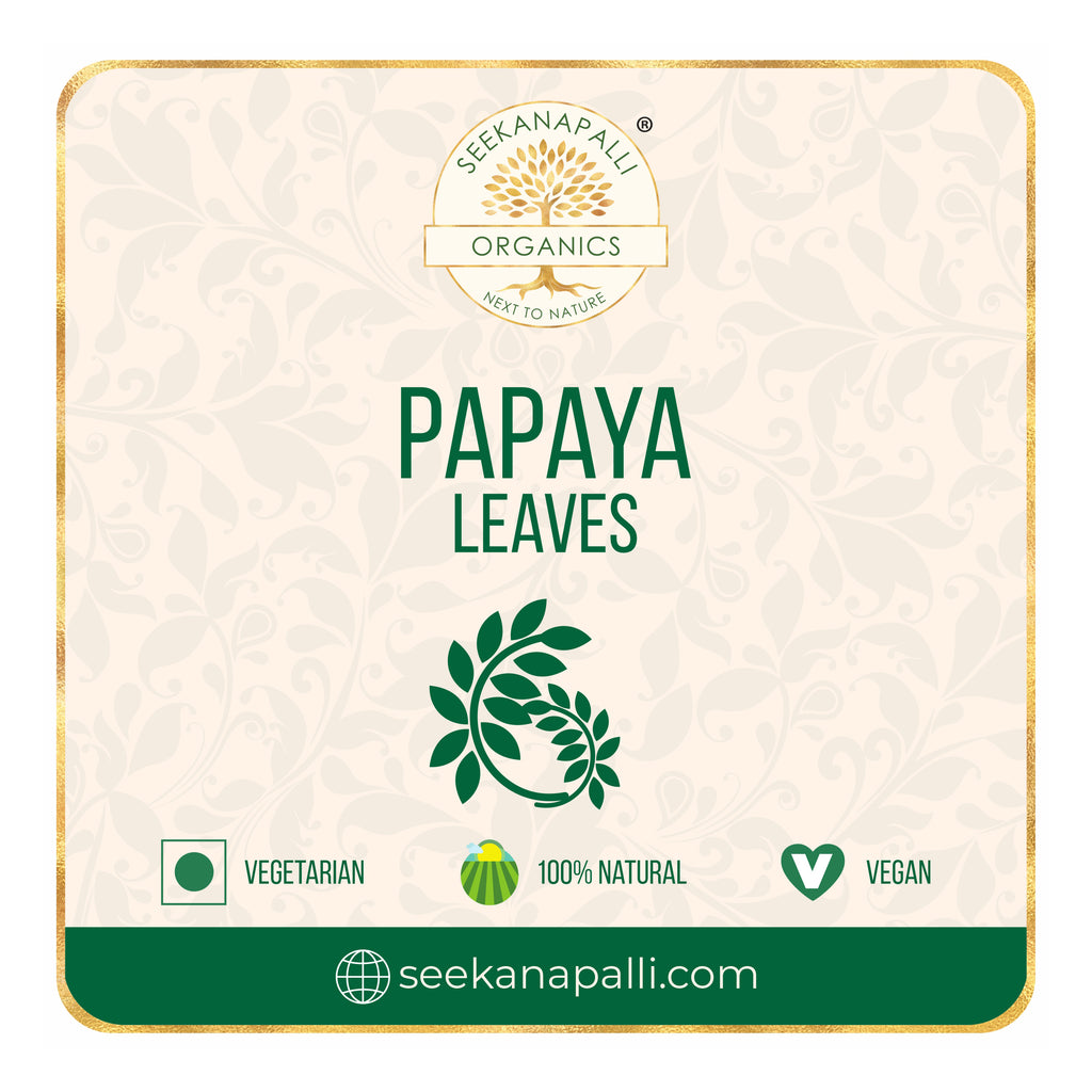 Seekanapalli Organic Papaya Dried Leaves 500 grams