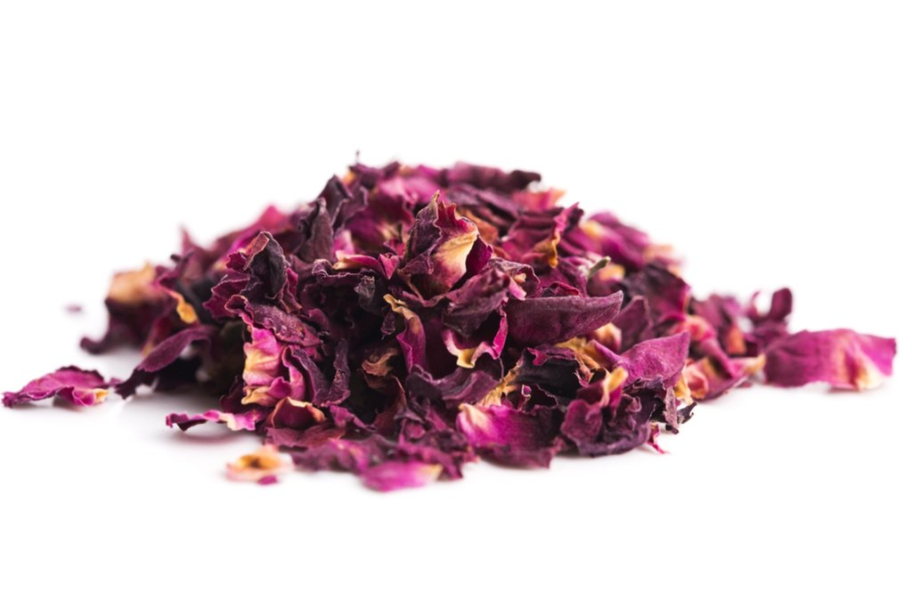 Seekanapalli Rose Petals Sun Dried - Herbal Tea - Rose Tea - For Beautiful Hair & Skin (300g) Rose Herbal Tea Pouch  (300 g)