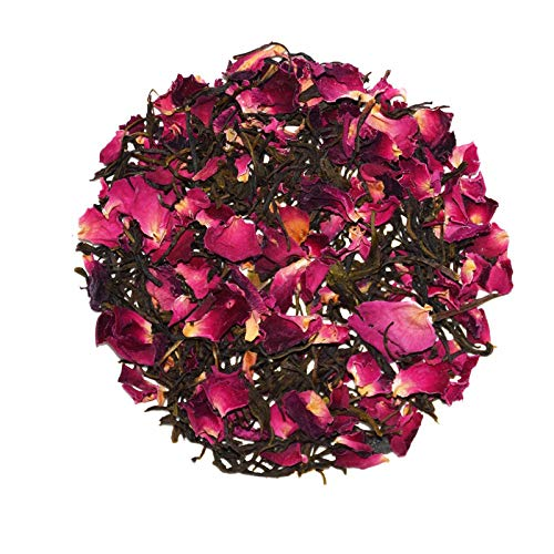SEEKANAPALLI ORGANICS ROSE PETAL GREEN TEA 1000 GRAM