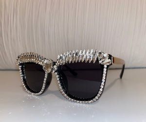 OUT ALL NIGHT CRYSTAL SUNGLASSES