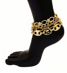 FASHION MIX MATCH ANKLE BRACELET