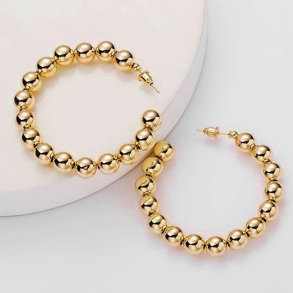 PEARL TRENDY STYLE EARRINGS