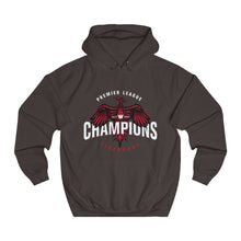 Load image into Gallery viewer, Champions 19/20 - Bird - White - Unisex College Hoodie