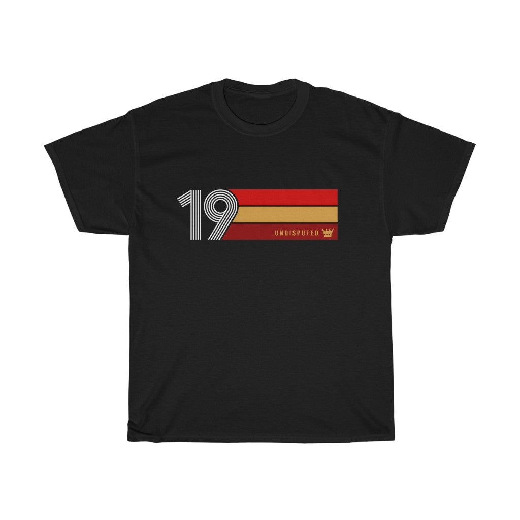 Undisputed 19 (On Black) - Unisex Heavy Cotton Tee