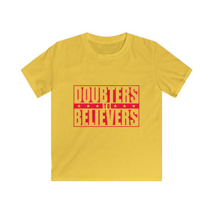 Doubters To Believers - Red Text (Kids)